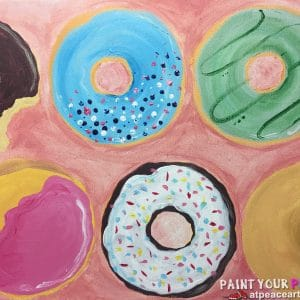 February VACATION Paint Party @ Fairmount Grill