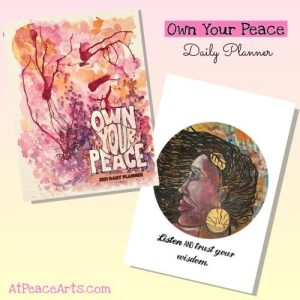 2021 Own Your Peace Daily Planner